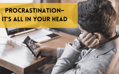 Procrastination: it's all in your head