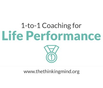 Coaching for Life Performance - one-to-one coaching session at TheThinking Mind Coaching Ltd