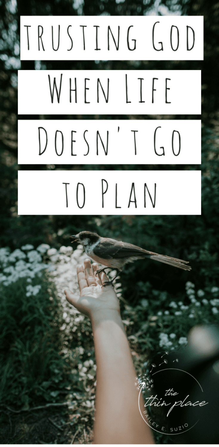 When Life Doesn't Go to Plan: How to Trust in the Maker #trustgod #god #faith #christian #christianity
