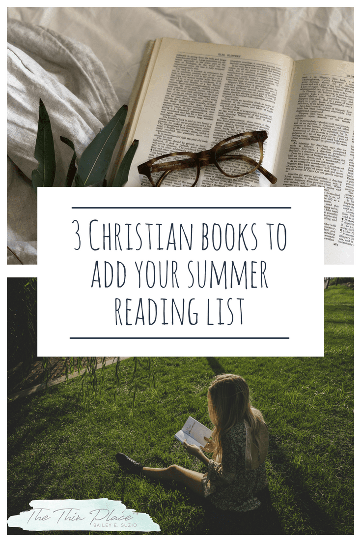 3 Christian Books I'm Reading This Summer #reading #christian #christianbooks #summerreading #joy #infertility #deovtionals