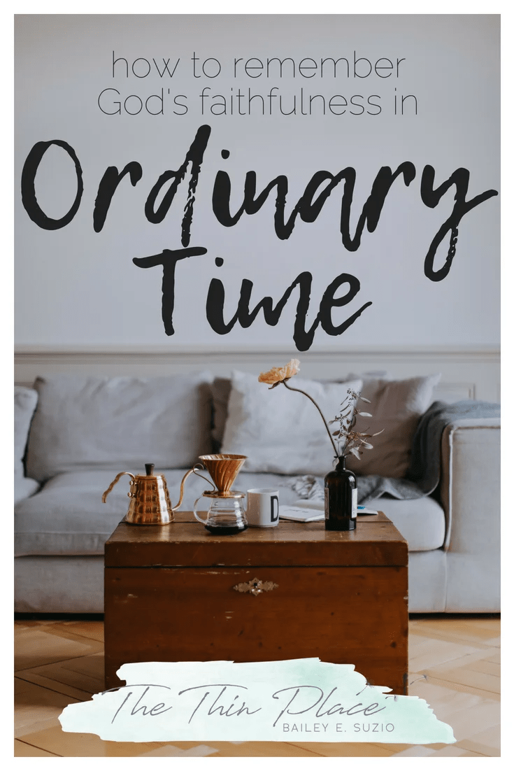 What Is Ordinary Time And How Do I Celebrate It? #ChurchCalendar #Church #LiturgicalLiving #ChristianLiving #Ordinary #OrdinaryTime