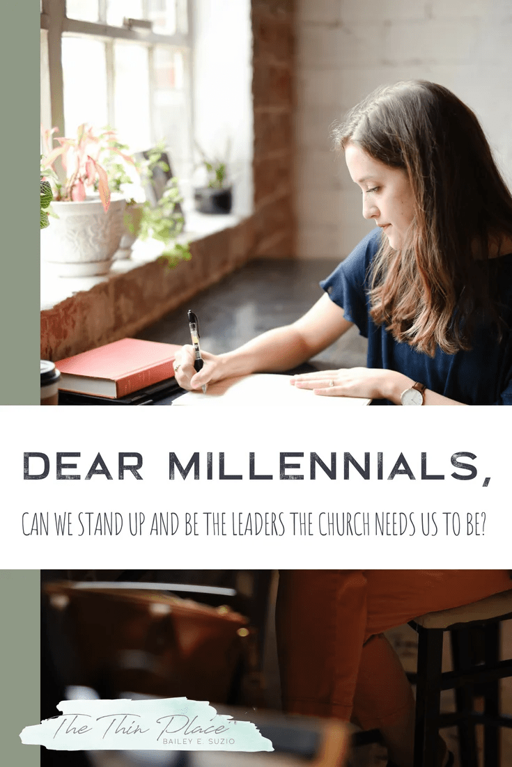 Can we be the leaders in the Church that we need to be? #millenials #church #christian #leaders #standup