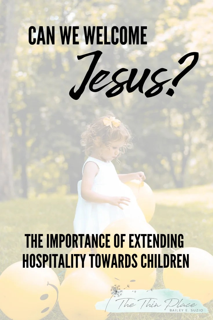 """""""Let the Little Children Come"""" - Welcoming Jesus as we Welcome Children #devotional #kids #church #worship #christianity #christian"""