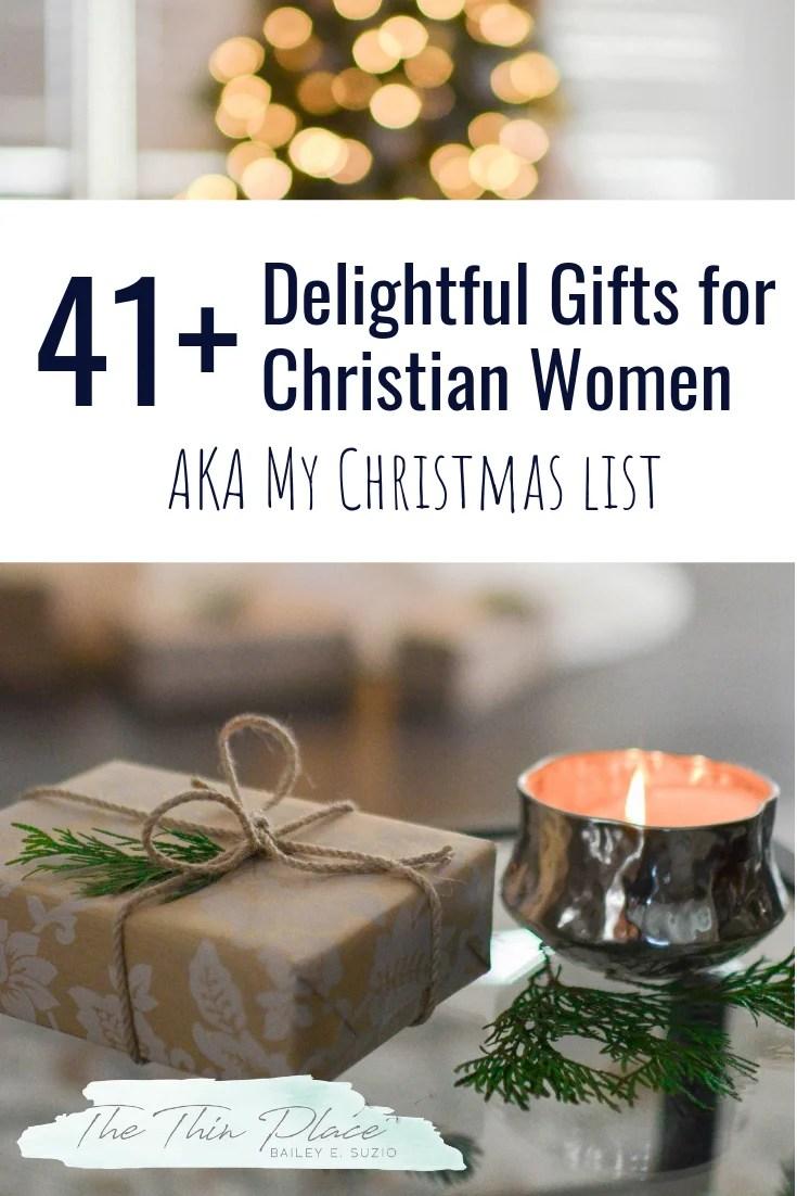 41+ Delightful Gifts for Christian Women #christiangift #giftguide #giftsforwomen #christianwomen #christmasgifts
