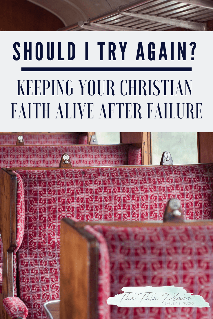 Keep Your Christian Faith When You Feel Like You're Constantly Falling Short #FaithInGod #Devotional #Christianity #TrustingGod #ChristianWomen