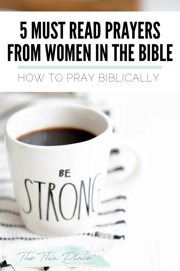 Encouragement for Christian Women on How to Pray (Learn from Women of the Bible!) #biblestudy #pray #christianencouragement #bible #prayer