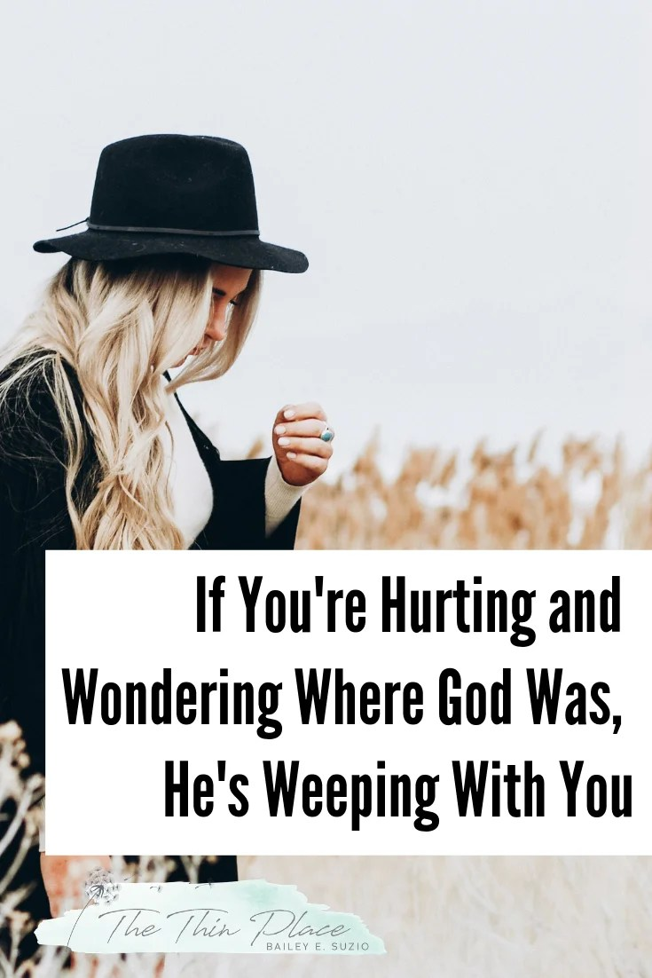 How Mary's Pain and Jesus's Crying Helped My Grief #christiangrief #devotional #jesuswept #christianwomen #loss