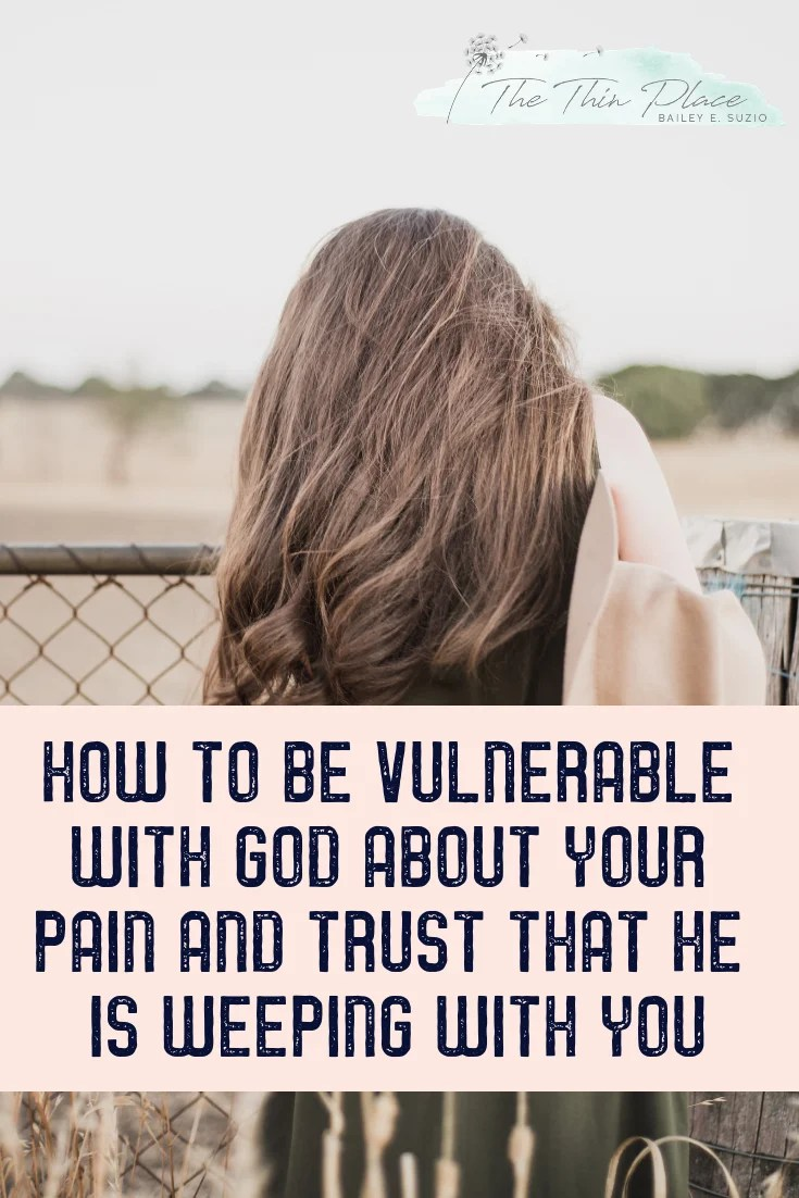 If You're Hurting and Wondering Where God Was, He's Weeping With You #grief #pain #christianhope #jesuswept #biblestudy