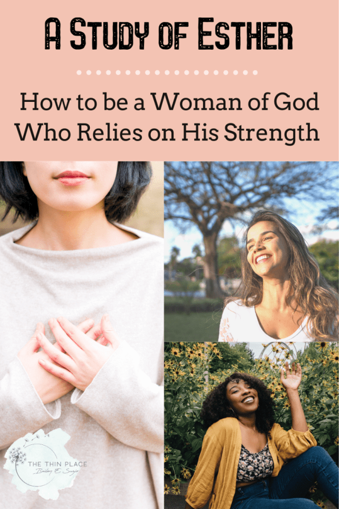 How to be a woman who relies on God like Esther did #biblestudy #devotinoal #bibletime #womenofGod #womeninthebible #chrsitianliving