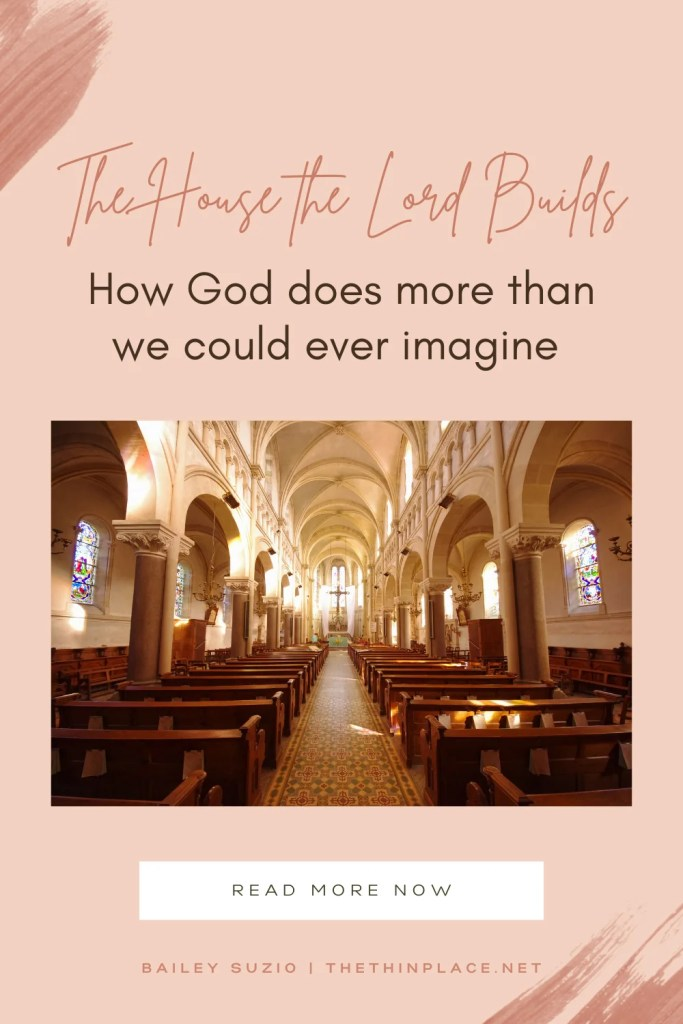 Isn't it just like the Lord to take our feeble offerings and show us that He will do infinitely more than we could imagine? #Devotional #ChristianLife #ChristianLiving #Faith #BibleTime #WomanofFaith
