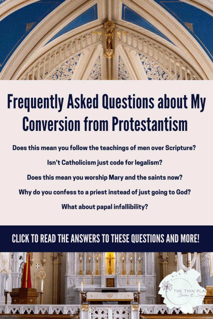 Frequently Asked Questions About Catholicism #Faith #Catholic #CatholicWomen #CatholicConvert