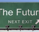 the future road sign