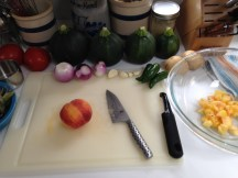 Operation: Peach Salsa