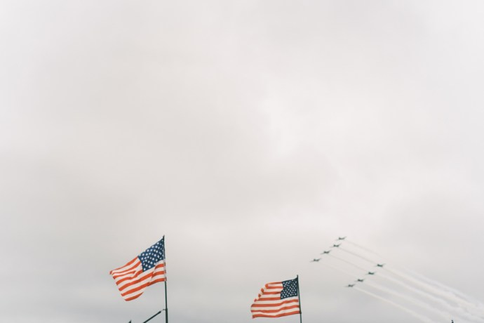 Wichita Air Show WWII Reenactment