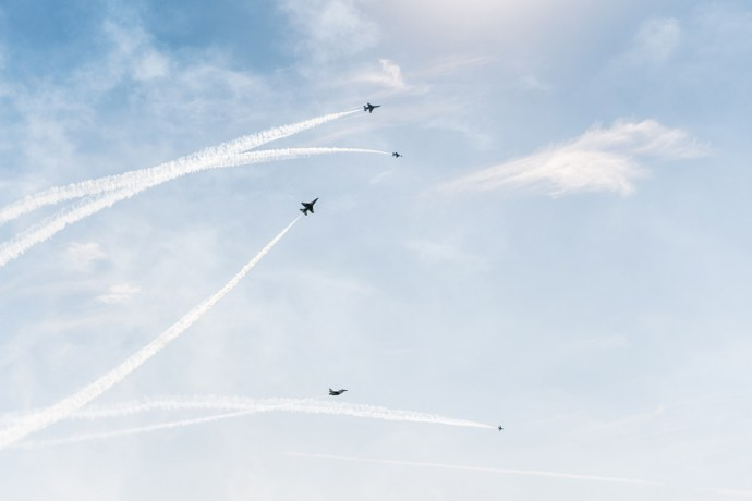 Wichita Air Show Air Force Thunderbirds