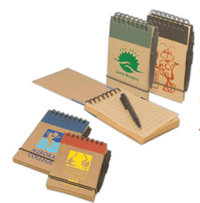 FREE ORGANIC NATURAL RECYCLED NOTEPAD