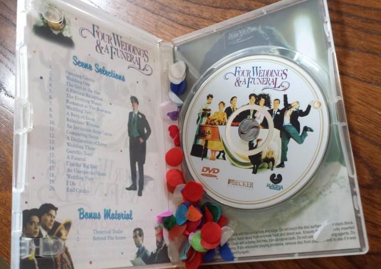DVD confetti
