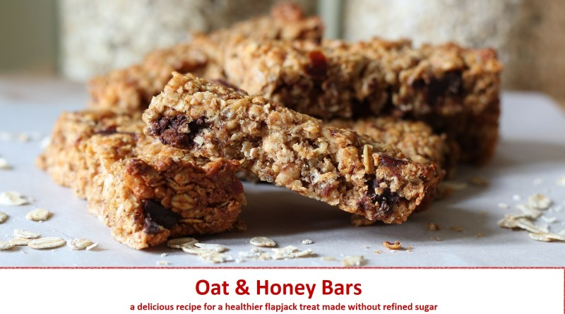 oat honey bars recipe