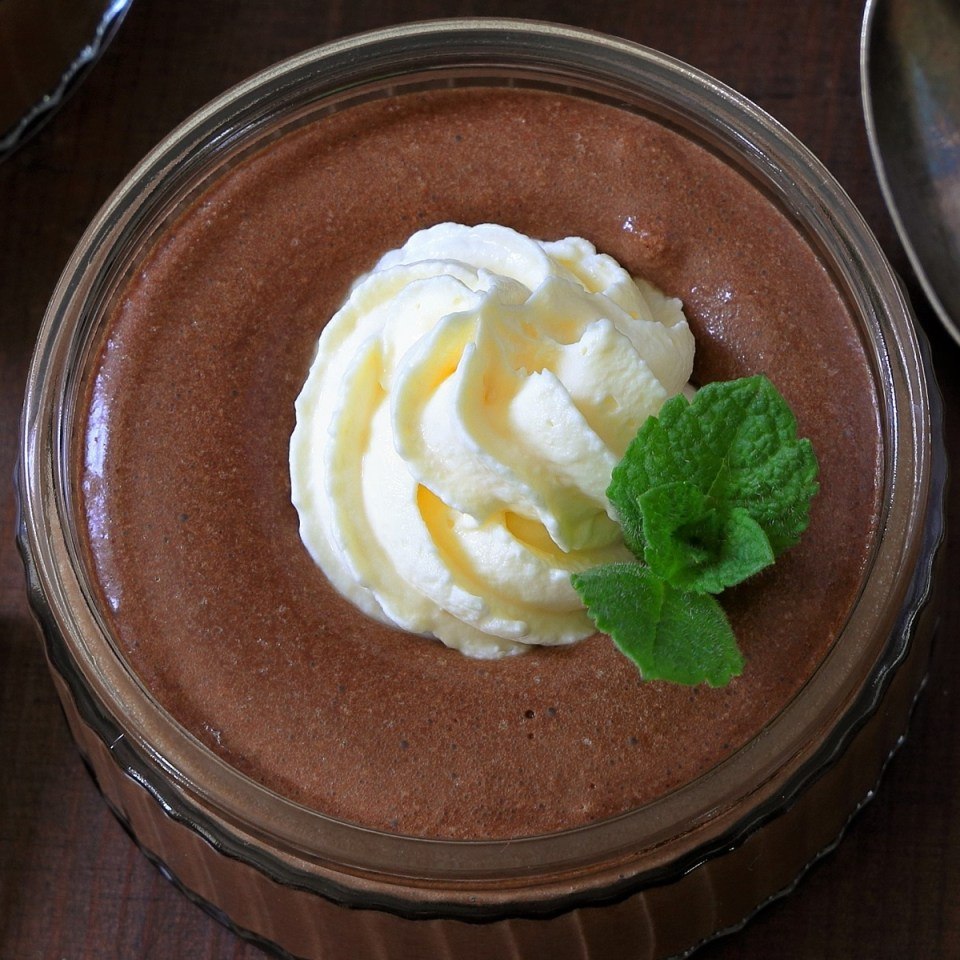 simple chocolate mousse recipe
