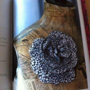 Liberty fabric corsage