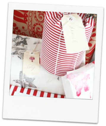 Handmade Christmas idea #4- Print your own Paper