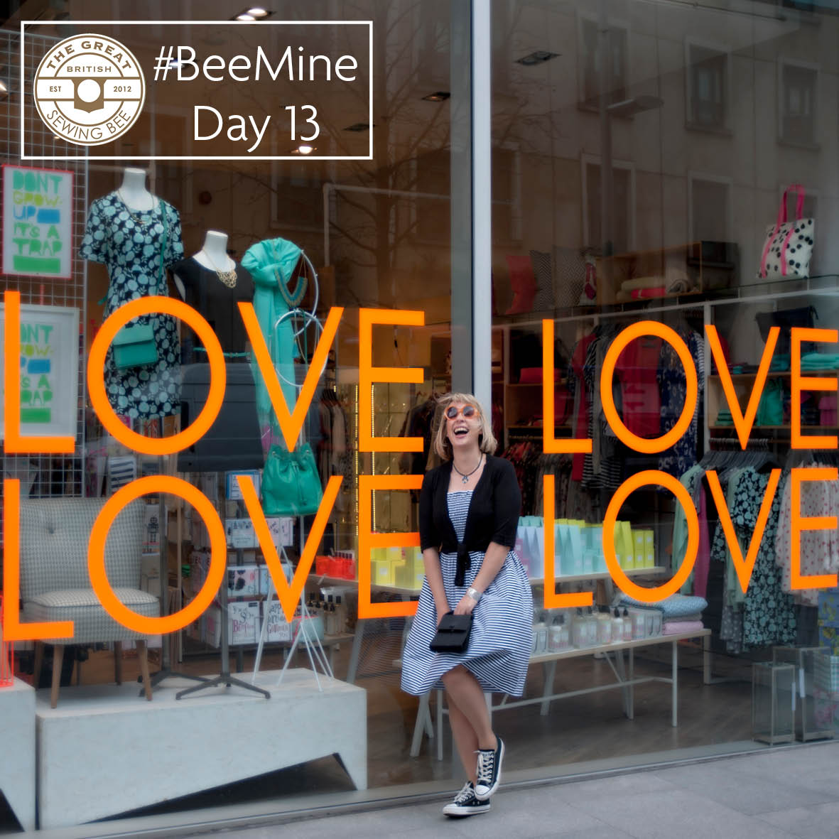 Day 13 #BeeMine- My 30 day blog challenge- Fashion With Fabric