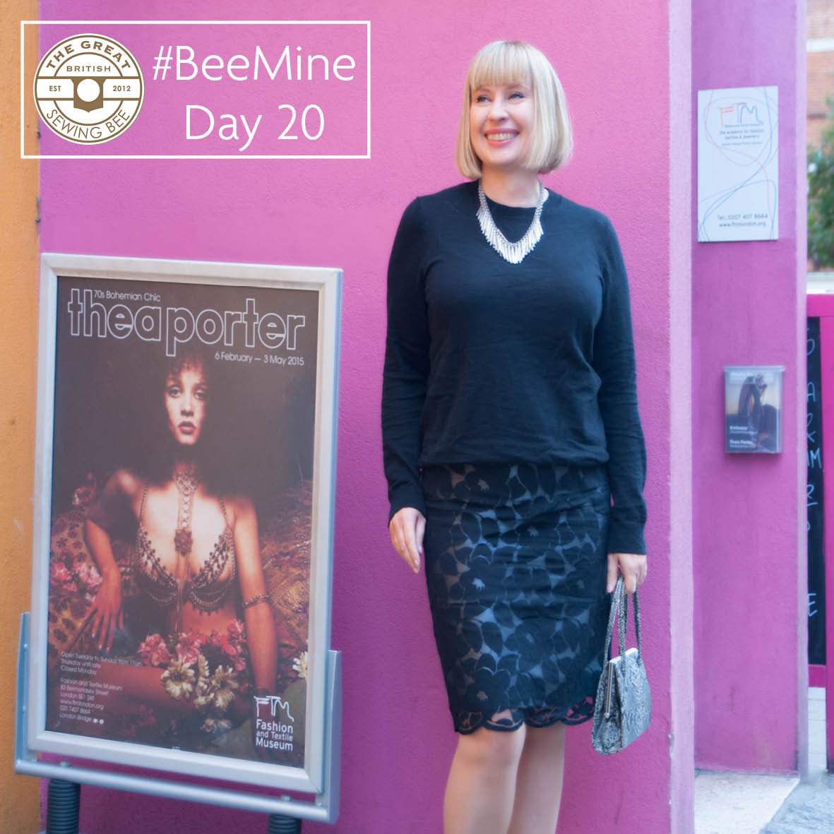 Day 20 #BeeMine- My 30 day blog challenge- Fashion With Fabric