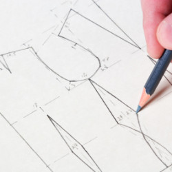 beginners pattern cutting course at the Thrifty Stititcher