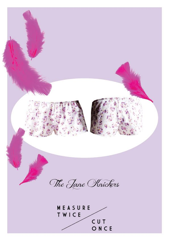The Jane Knickers by Measure Twice Cut Once