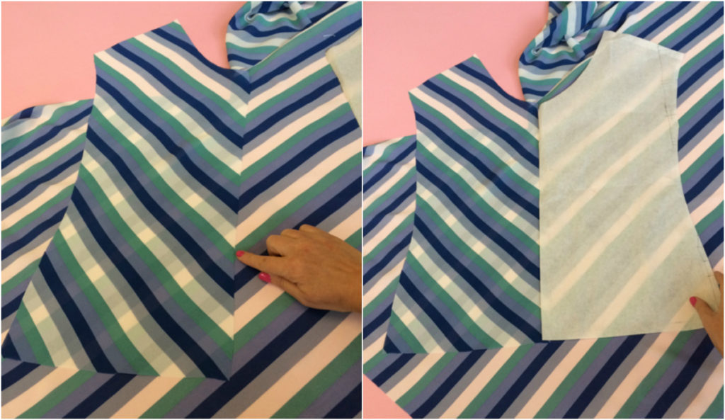 Tips for cutting the chevrons