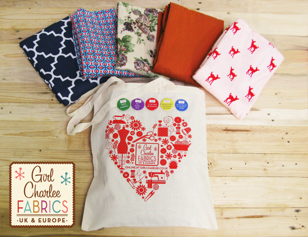 The Thrifty Stitcher is 7!- enter our birthday competition to win a bundle of Girl Charlee fabric!