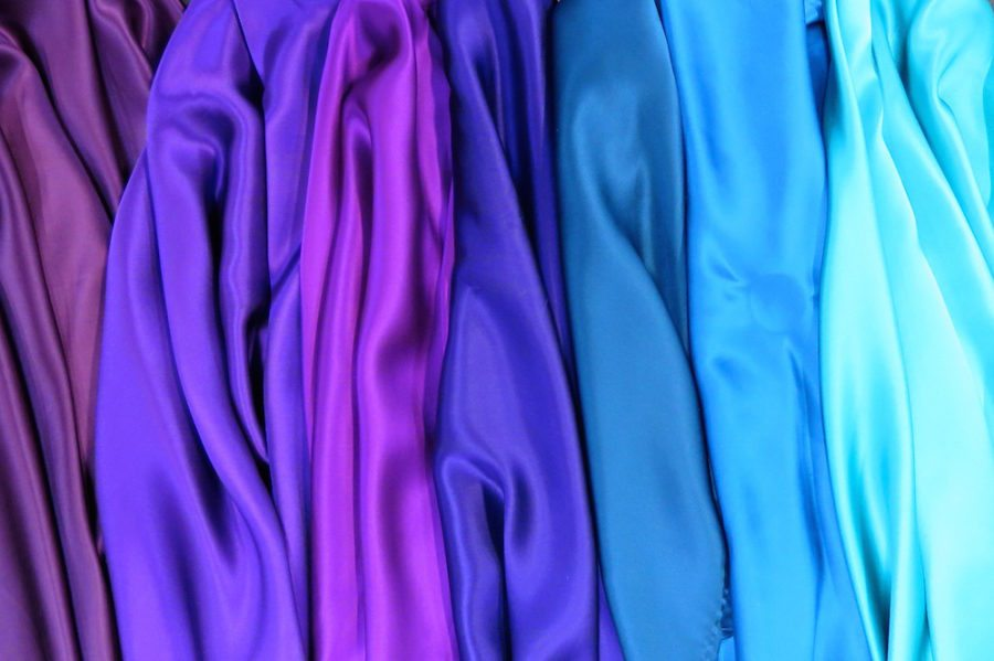 Tips for sewing slippery fabrics- silks