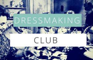 Dressmaking Club @ Fashion antidote
