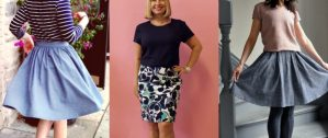 Beginners Dressmaking- Sew a Simple Skirt ( eve session 2) @ The Thrifty Stitcher