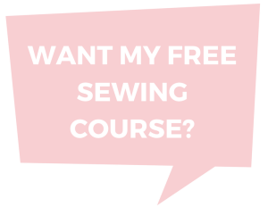 Free mini Sewing Course