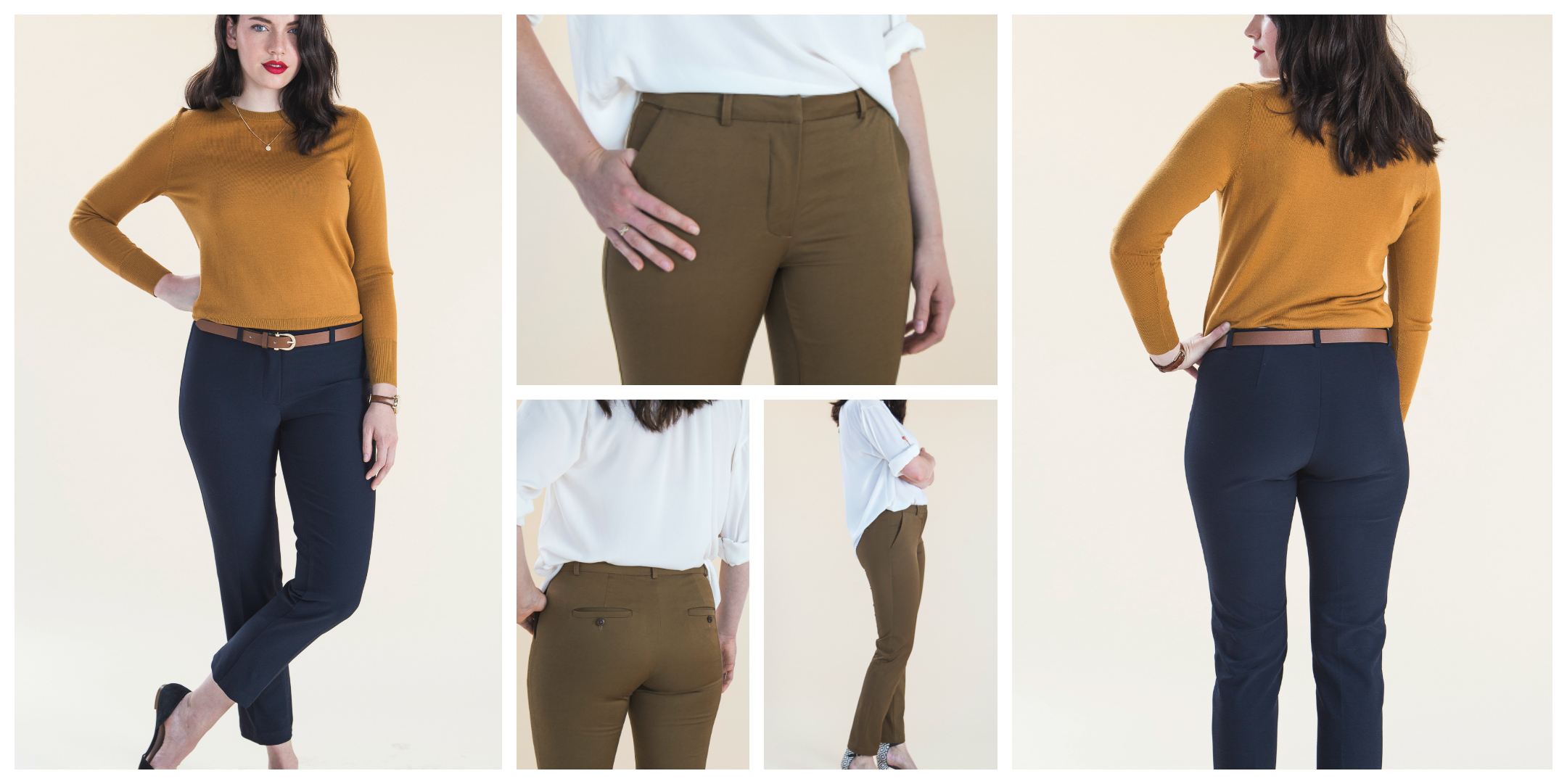 Sew your own tailored Sasha trousers