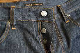 jean buttons and rivets