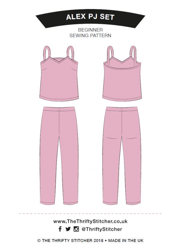 PDF Alex pyjama set