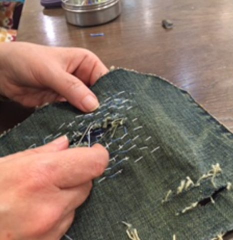 The art and craft of mindful mending.