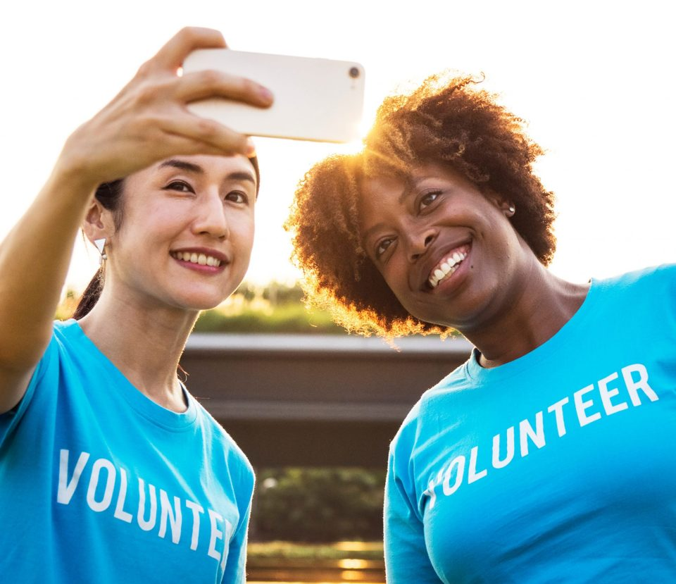 Serving others through volunteering