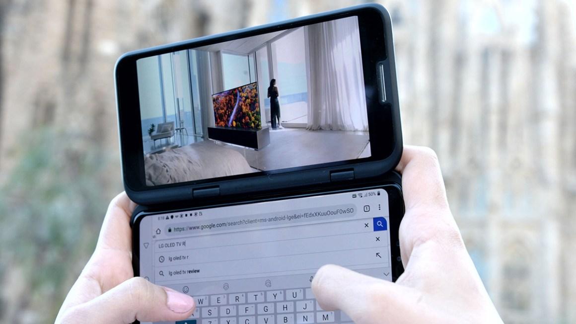 LG V50 ThinQ Foldable phones