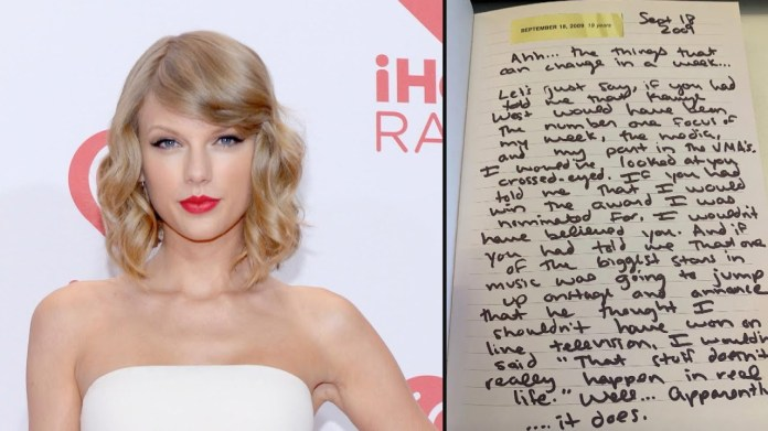 "Remember when ""Kanye West"" express ""Taylor Swift"" is not the right option for ""2009 VMA"" ??? Taylor replied now through her diary!"