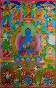 Special Offer On Medicine Buddha Thangka