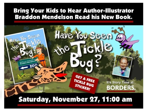 Children's Author to Read Book at Borders