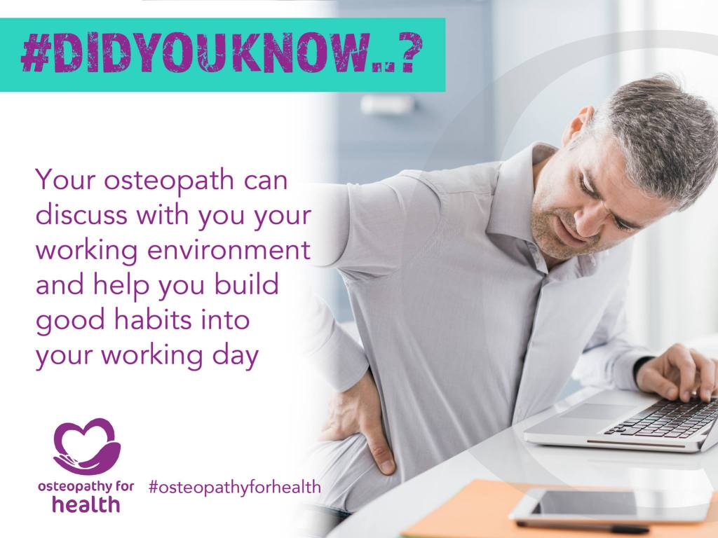 Key facts about osteopathy