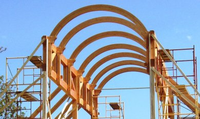 Wood Frame Arch Detail | Wooden Thing