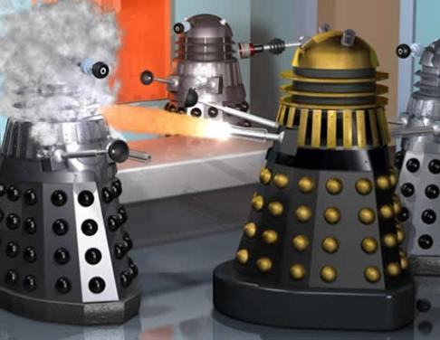 Dr Who - Planet of the Daleks