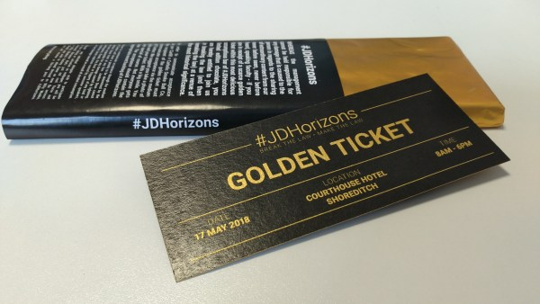 JD Horizons Golden Ticket