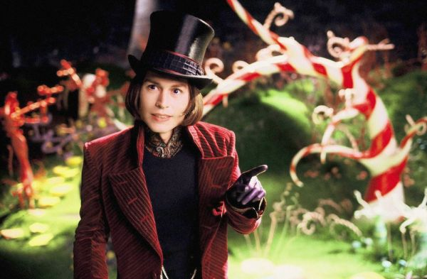 Willy Wonka - Johnny Depp