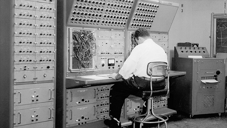 Old Computers at BigLaw